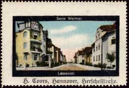 Hannover: Lassenstraße Reklamemarke - Erinnofilia
