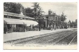 50/ MANCHE... PONTORSON. La Gare ( Vue Intérieure) - Pontorson