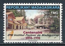 °°° MADAGASCAR - CENTENAIRE INSTITUT PASTEUR - 1998 °°° - Madagascar (1960-...)