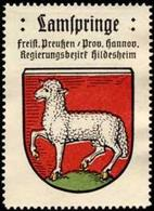 Bremen: Lamspringe Reklamemarke - Cinderellas