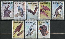 Rwanda, Yvert 804/811, Scott 828/835, MNH - Rwanda