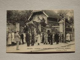 94 Val De Marne, Arcueil Cachan, Ecole Spéciale De Travaux Publics, Entrée De L'école, Hamelle éditeur, N'a Pas Circulé - Arcueil