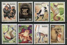 Rwanda, Yvert 820/827, Scott 849/856, MNH - Rwanda