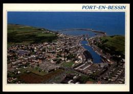 14 - Port-en-Bessin-Huppain - Ryes Port-en-Bessin - Vue Aérienne #08693 - Bayeux