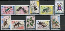 Rwanda, Yvert 828/837, Scott 865/874, MNH - Rwanda