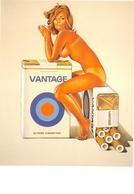 Mel RAMOS - Cigarettes Vantage - Collection Louis K. Meisel, New-York - Nu Dessiné - Pin-Up - Illustrators & Photographers