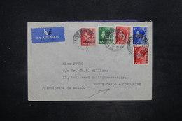 MAROC - Enveloppe De Tanger Pour Monaco En 1936 , Affranchissement Plaisant - L 26583 - Bureaux Au Maroc / Tanger (...-1958)