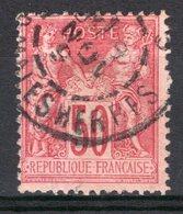 FRANCE - 1884 - YT N° 98 - Oblitéré - Sage  N/U - - 1876-1878 Sage (Type I)