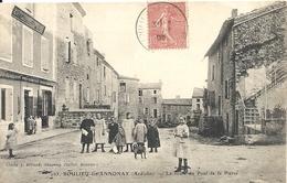 *BOULIEN LES ANNONAY. LA ROUTE DU PONT DE LA PIERRE - Autres Communes