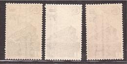 Colis Postaux Série Surchargée 1945 Yvert 226/228 ** - Colis Postaux