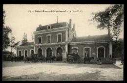 18 - Saint-Amand-Montrond La Gare P.O. Calèches #01755 - Saint-Amand-Montrond