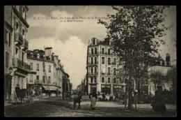 64 - Pau Coin De La Place Republique Et La Rue Carnot Anne Cariole #01473 - Pau