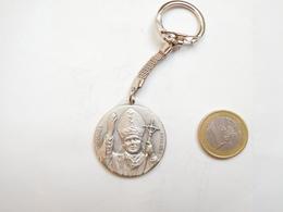 Beau Porte Clés , Pape Jean Paul II , Joannés Paulus II , Vatican , St Pierre De Rome , Roma - Porte-clefs