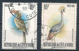 °°° COTE D'IVOIRE - Y&T N°565b/c - 1980 °°° - Costa D'Avorio (1960-...)
