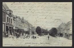 AUMALE * SEINE-INF.  * PLACE DU MARCHE * 1908 - Aumale