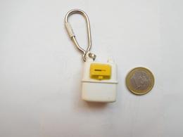 Beau Porte Clés , GDF , Gaz De France , Compteur Schlumberger Gallus 2000 ( PAS D'ENVOI HORS DE FRANCE ) - Key-rings