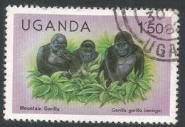 Uganda. 1979 Wildlife. 1/50 Used. SG 309A - Uganda (1962-...)