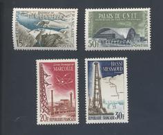 FRANCE 1203** à 1206** Réalisations Techniques Année 1959 Cote Yvert 2019 3.00 Euros - Neufs