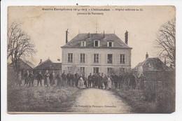 CPA 28 CHATEAUDUN Hopital Militaire N° 15 - Chateaudun