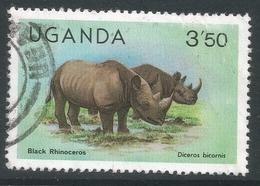 Uganda. 1979 Wildlife. 3/50 Used. SG 312A - Uganda (1962-...)