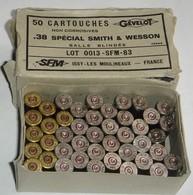 Lot 43 Douilles Vides & Percutèes Pour Smith&Wesson 38 Spécial - Autres