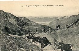 - BAGNERES De Bigorre - Attelages Au Sommet Du Tourmalet  -19295- - Bagneres De Bigorre