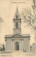 54 - Nancy - Eglise Saint Georges - Animée - Voyagée En 1918 - Voir Scans Recto-Verso - Nancy