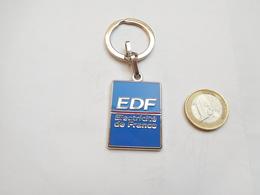 Beau Porte Clés , EDF , Electricité De France - Porte-clefs