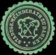 Dahlen: Stadtgemeinderath Zu Dahlen Siegelmarke - Cinderellas