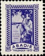 Wien: Kalender 1913 Reklamemarke - Cinderellas