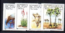 XP5003 - BOTSWANA 1983 , Serie Yvert N. 477/480  ***  Fauna E Flora - Botswana (1966-...)