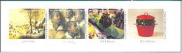 BELGIQUE BELGIEN BELGIUM BÉLGICA 2001 CARNET MUSÉES ROYAUX DES BEAUX-ARTS DE BRUXELLES YT C2999-3002 MI C3054-57 SC C185 - Bahnwesen