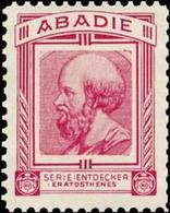 Wien: Eratosthenes Reklamemarke - Cinderellas