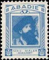 Wien: Hans Makart 1840-1884 Reklamemarke - Erinnofilia