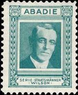 Wien: Woodrow Wilson 1865-1924 Reklamemarke - Erinofilia