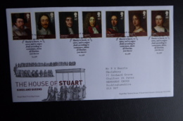 GREAT BRITAIN [UK] SG 3087-93 THE HOUSE OF STEWART FDC - FDC