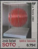 FRANCE Poste 3535 ** Tableau Jesus Rafael SOTO : Sphère Concorde ( Art Cinétique) - Unused Stamps