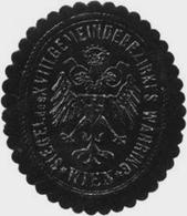 Wien: Siegel Des XVIII. Gemeindebezirkes Währing Wien Siegelmarke - Cinderellas