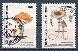 °°° COTE D'IVOIRE - Y&T N°1000/1 - 1998 °°° - Costa D'Avorio (1960-...)