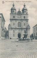 CPA - Belgique - St-Hubert - Façade De L'Eglise St Hubert - Saint-Hubert