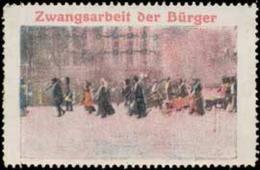Hamburg: Zwangsarbeit Der Bürger Reklamemarke - Cinderellas