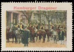 Hamburg: Hamburger Dragoner Reklamemarke - Cinderellas