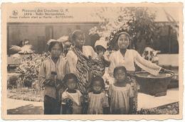 MISSIONS Des Ursulines U.R. - JAVA, Buitenzorg - Groupe D'enfants Allant Au Marché - Missions