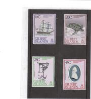V19 - Gilbert Islands - 71 /74** MNH - CAPTAIN COOK'S VOYAGES - Endeavour/Tortue/Cadran/Portrait Médaillon- - Timbres