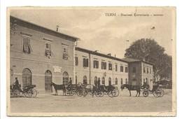 TERNI - STAZIONE FERROVIARIA - ESTERNO - Terni