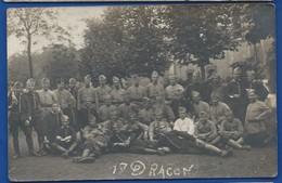 Carte Photo   Militaire Du 17° Dragons - Regimente