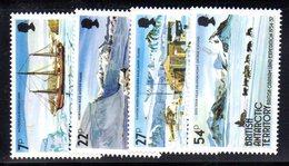 XP5007 - BAT ANTARTICO INGLESE 1985 , Serie Yvert N. 144/147  *** - Territorio Antartico Britannico  (BAT)