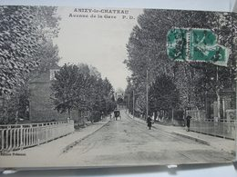 ANIZY-le-CHÂTEAU  -  Avenue De La Gare - Laon