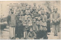 TONKIN, MONCAY - Catholiques Chinois, Mission De Chizan, CHINE - Vietnam