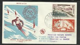Monaco JO 1956 Melbourne Cortina Ampezzo - Zomer 1956: Melbourne